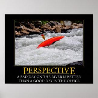 Kayaking Perspective Poster