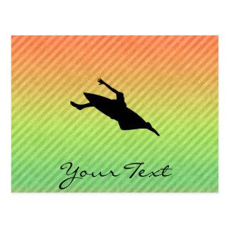 Kayaking Postcard