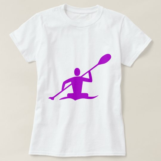 Kayaking - Purple T-Shirt