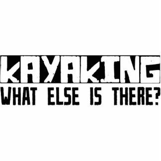 ¿Kayaking qué más está allí? Adorno Fotoescultura
