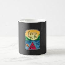 Kayaking - River Is Calling And I Must Go Coffee Mug