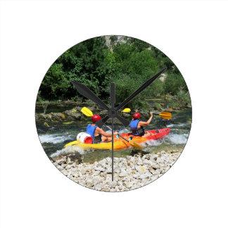 Kayaking Round Clock