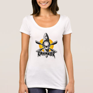 Kayaking Skull T-Shirt