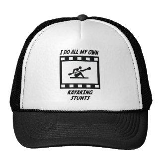 Kayaking Stunts Mesh Hats