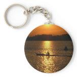 Kayaking Sunset Keychain