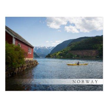iPictures Kayaking the Hardangerfjord in Norway Postcard
