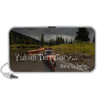 Kayaking the Lapie; Yukon Territory Souvenir Mp3 Speaker