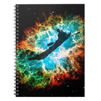 Kayaking the rapids of a star cluster. note books