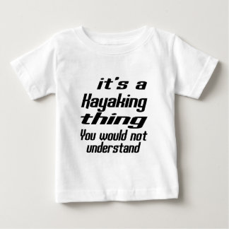 Kayaking THING DESIGNS Tee Shirt