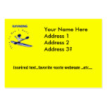 Kayaking This Is How I Roll Large Business Cards (Pack Of 100)