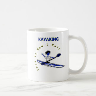 Kayaking This Is How I Roll Classic White Coffee Mug
