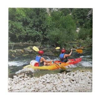 Kayaking Tile