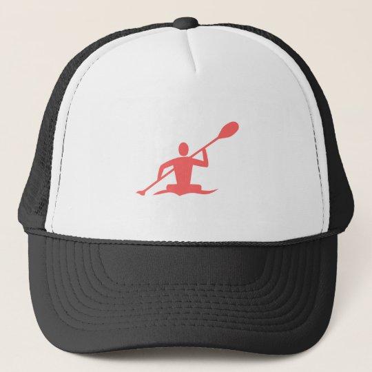 Kayaking - Tropical Pink Trucker Hat