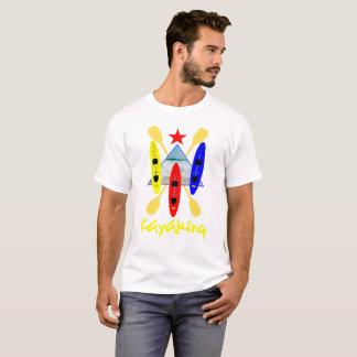 Kayaking Water Sports Themed Graphic T-Shirt