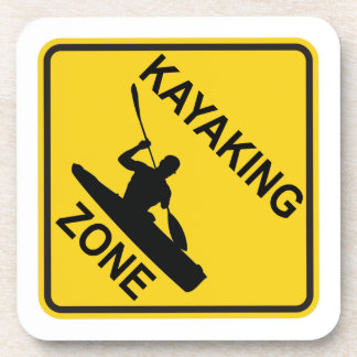 Kayaking Zone Drink Coaster