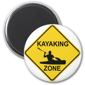 Kayaking Zone Magnet