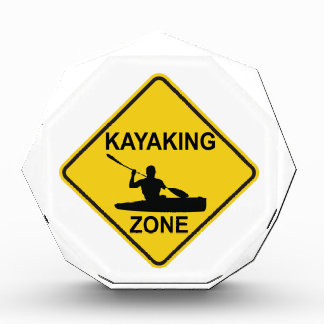 Kayaking Zone Road Sign Award