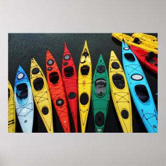 Kayaks 2 poster
