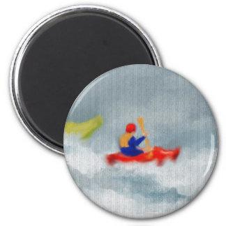 Kayaks Art Magnet