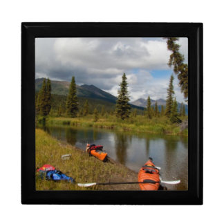 Kayaks at Rest Keepsake Box