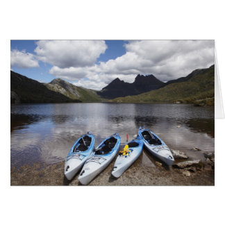Kayaks, Cradle Mountain and Dove Lake, Cradle Cards