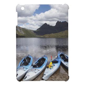 Kayaks, Cradle Mountain and Dove Lake, Cradle iPad Mini Covers