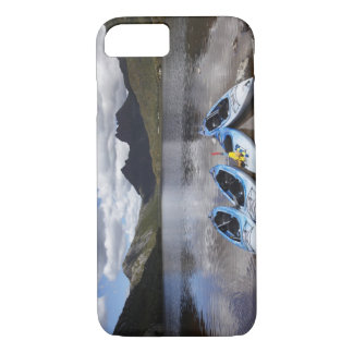 Kayaks, Cradle Mountain and Dove Lake, Cradle iPhone 8/7 Case