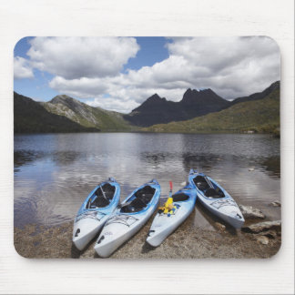 Kayaks, Cradle Mountain and Dove Lake, Cradle Mouse Pad