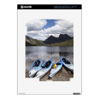 Kayaks Cradle Mountain and Dove Lake Cradle iPad 3 Skin