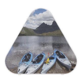 Kayaks, Cradle Mountain and Dove Lake, Cradle Speaker