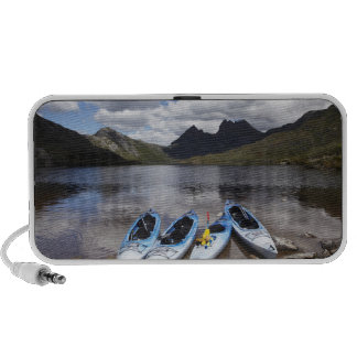 Kayaks Cradle Mountain and Dove Lake Cradle Notebook Speakers