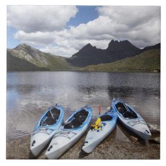 Kayaks, Cradle Mountain and Dove Lake, Cradle Tile