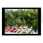 Kayaks Greeting Cards