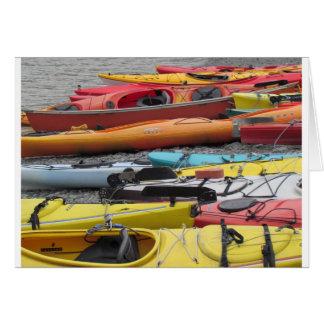 Kayaks in Alaska Card