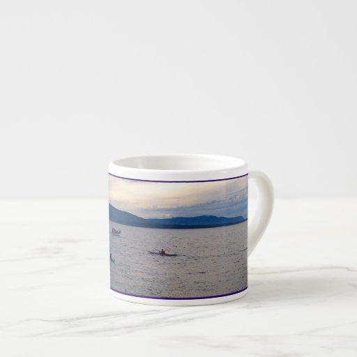 Kayaks On Bellingham Bay 6 Oz Ceramic Espresso Cup