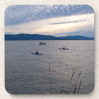 KAYAKS ON BELLINGHAM BAY COASTER