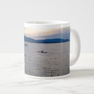 Kayaks On Bellingham Bay Giant Coffee Mug
