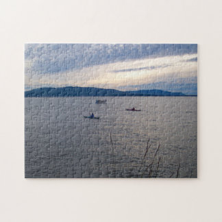 KAYAKS ON BELLINGHAM BAY JIGSAW PUZZLE