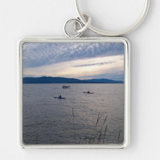KAYAKS ON BELLINGHAM BAY KEYCHAIN