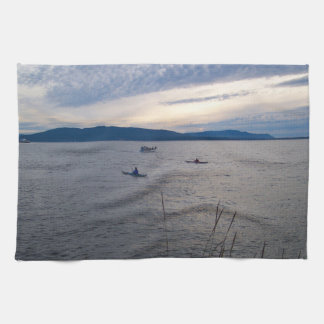 Kayaks On Bellingham Bay Towel