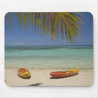 Kayaks on the beach, Plantation Island Resort 2 Mouse Pad
