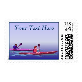 Kayaks Postage
