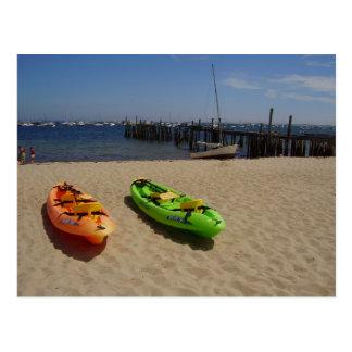 Kayaks Postcard