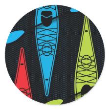 Kayaks RBG Stickers