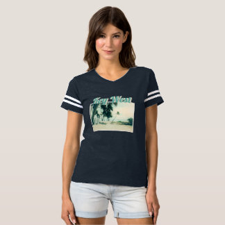 Kayaks, Surf Boards, and Surfers at Smathers Beach T-shirt