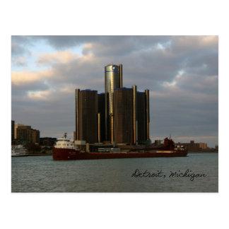Kaye E. Barker Detroit post card