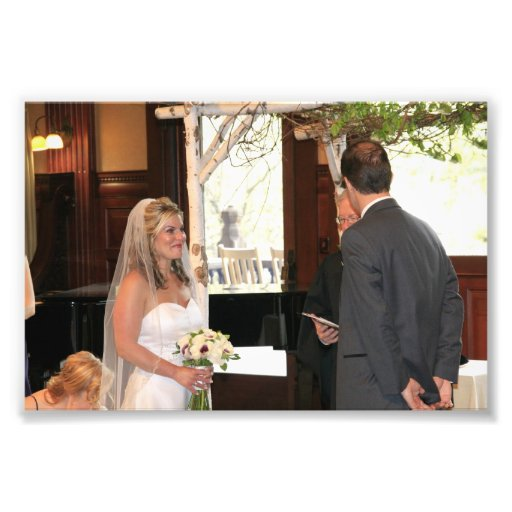 KAYE-HOLDEN WEDDING: LAURIE-GREG OATH PHOTOGRAPHIC PRINT