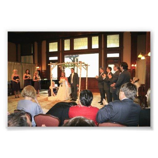 KAYE-HOLDEN WEDDING: LAURIE-GREG UNDER CANOPY ART PHOTO