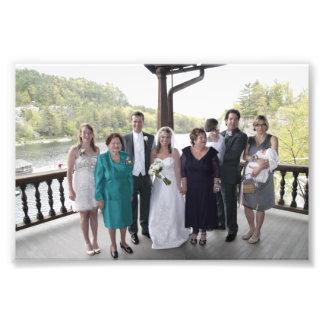 KAYE-HOLDEN WEDDING: LAURIE & KAYE FAMILY ART PHOTO