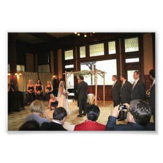KAYE-HOLDEN WEDDING: OATH BRIDESMAID GROOMS PHOTO PRINT